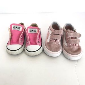 Little Girls Sneaker Lot Size 6